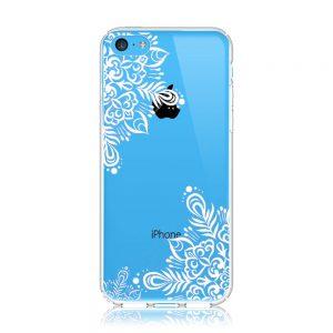 iPhone5c クリアケース (透明) (側面印刷なし)