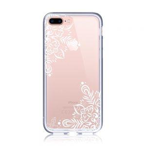 iPhone8Plus クリアケース (透明) (側面印刷なし)