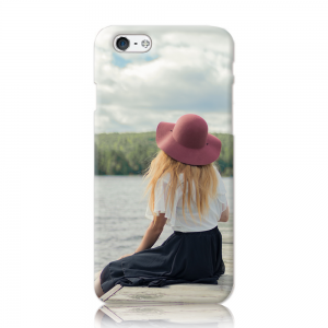 iPhone8 ケース<br>(白) (表面のみ印刷)