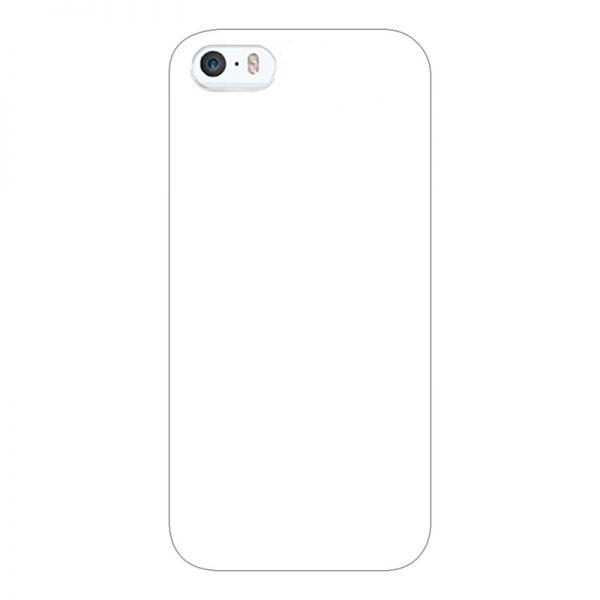 iPhone5/5s/SE ケース (白) (側面印刷なし)