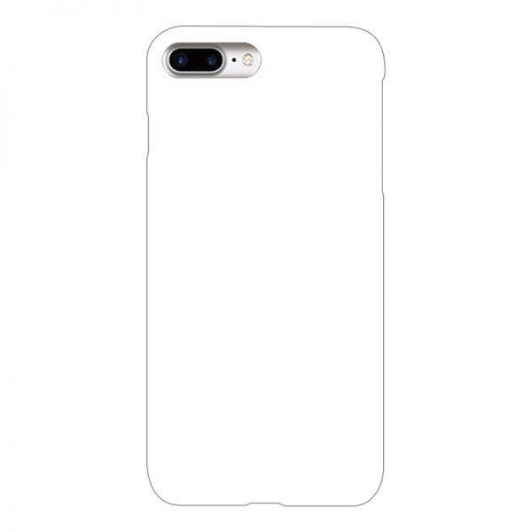 iPhone8Plus ケース (白) (側面印刷なし)