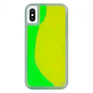 iPhoneX/XS ネオンサンドケース