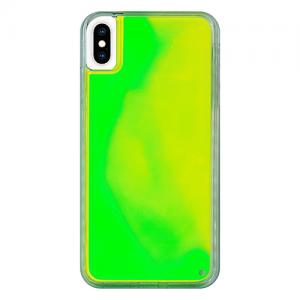 iPhoneXSMax ネオンサンドケース