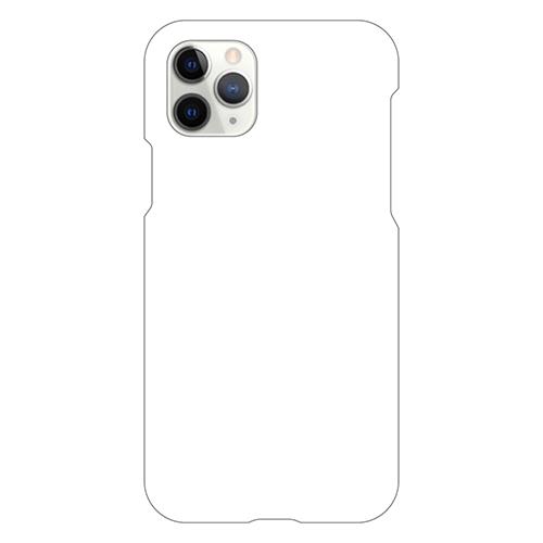 iPhoneXIProケース (白) (側面印刷なし)
