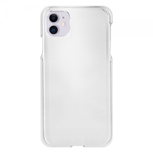 iPhone11クリアケース (透明) (側面印刷なし)