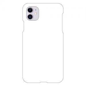 iPhone11ケース (白) (側面印刷なし)
