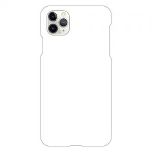 iPhone11ProMaxケース (白) (側面印刷なし)