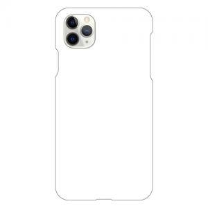 iPhone11ProMaxケース<br>(白) (表面のみ印刷)