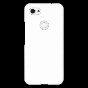Google Pixel 3a XL</br> ケース (表面のみ印刷) (白)