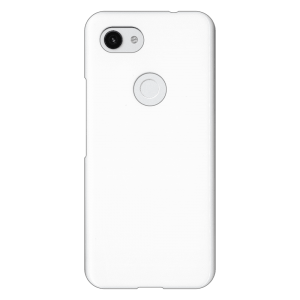 Google Pixel 3a</br> ケース (表面のみ印刷) (白)