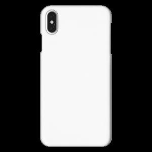 【在庫限り】iPhoneXSMax<br>ハードケースつや有り(白/黒)