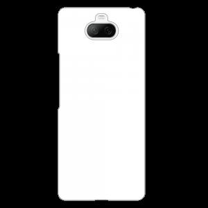 Xperia 8ケース (白) (側面印刷なし)