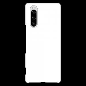 Xperia 5ケース (白) (側面印刷なし)