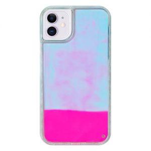 iPhone11 ネオンサンドケース