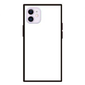 iPhone12mini<br>スクエア型強化ガラスケース