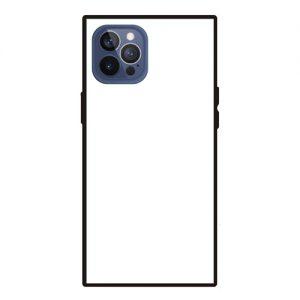 iPhone12ProMax<br>スクエア型強化ガラスケース