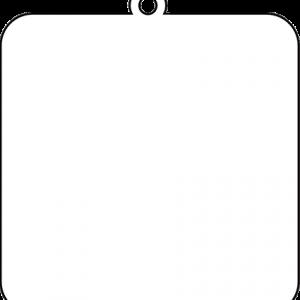 四角型アクリルキーホルダー(10cm)