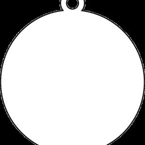 丸型アクリルキーホルダー(6cm)