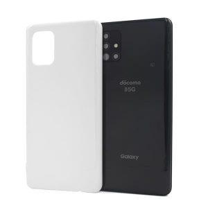 Galaxy A51 5G ケース (白/黒) (側面印刷なし)