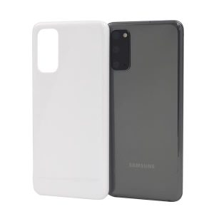 Galaxy S20 5G(SC-51A/SCG01)ケース<br>(白/黒) (側面印刷なし)
