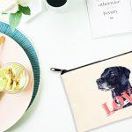 ペットのイラストや写真を使って作るオリジナルポーチの作り方と業者の紹介