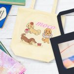 ペットの写真やイラストを使用して作るオリジナルトートバッグの作り方と業者の紹介